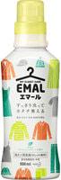 """KAO """"Emerl"""" Жидкое средство для стирки цветного белья, с ароматом свежей зелени, бутылка, 500 мл."""