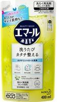 """KAO """"Emerl"""" Жидкое средство для стирки цветного белья, с ароматом свежей зелени, запасной блок, 400 мл."""