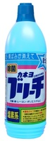 KANEYO Жидкий отбеливатель для белья, на основе хлора, бутылка, 600 мл.