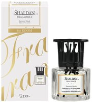 ST «SHALDAN - Роскошный мускус - Luxury Musk» Освежитель воздуха для комнаты, стеклянный флакон + палочки, 65 мл.