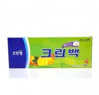 Clean wrap Пакеты фасовочные в коробке с системой «Прото достань», размер M - 25*35 см, 50 шт.