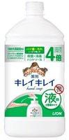 """Lion """"KireiKirei"""" Жидкое антибактериальное мыло для рук с маслом розмарина для всей семьи, с фруктово-цитрусовым ароматом, бутылка с крышкой, 800 мл."""