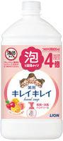 """Lion """"KireiKirei"""" Пенное антибактериальное мыло для рук - для всей семьи, с ароматом микса фруктов, бутылка с крышкой, 800 мл."""
