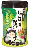 """Hakugen """"Hakugen Earth - Банное путешествие"""" Увлажняющая соль для ванны с восстанавливающим эффектом, с ароматом леса, банка 600 гр."""