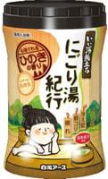 """HAKUGEN """"Hakugen Earth - Банное путешествие"""" Увлажняющая соль для ванны с восстанавливающим эффектом, с ароматом кипариса, банка 600 гр."""