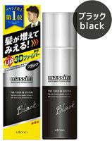 UTENA Быстродействующий оттеночный 3D-спрей для увеличения толщины волос, придания прикорневого объема и тонирования мужских волос - чёрный оттенок, 140 гр.