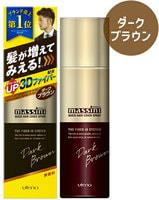 UTENA Быстродействующий оттеночный 3D-спрей для увеличения толщины волос, придания прикорневого объема и тонирования мужских волос - темно-коричневый оттенок, 140 гр.