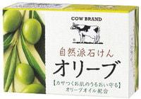 COW Натуральное увлажняющее мыло с оливковым маслом, 100 гр.