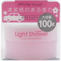 "DIAX ""Light Shower - White Musk"" Ароматизатор гелевый для автомобиля, тонкий цветочно-фруктовый аромат, 100 гр."