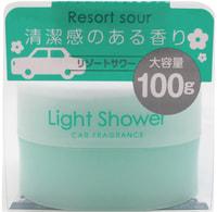 """DIAX """"Light Shower - Resort Sour"""" Ароматизатор гелевый для автомобиля, аромат трав и фруктов, 100 гр."""