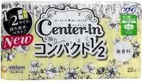 """Unicharm """"Center-in"""" Тонкие гигиенические прокладки - Normal 21 см, с крылышками, пачка 22 шт."""