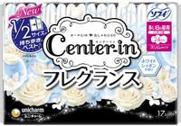 """Unicharm """"Center-in"""" Гигиенические прокладки с ароматом садовых цветов - Super 24 см, с крылышками, пачка 17 шт."""