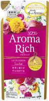 """Lion """"Soflan Aroma Rich Scarlet"""" Кондиционер для белья с богатым ароматом натуральных масел, сменная упаковка, 400 мл."""