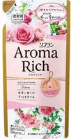 """Lion """"Soflan Aroma Rich Diana"""" Кондиционер для белья с богатым ароматом натуральных масел, сменная упаковка, 400 мл."""