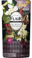 """KAO """"Flaire Fragrance Sweet & Spice"""" Кондиционер-смягчитель для белья с ароматом цветов и специй, сменая упаковка, 480 мл."""