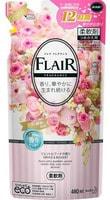 """KAO """"Flaire Fragrance Gentle & Bouquet"""" Кондиционер-смягчитель для белья с нежным букетным ароматом 480 мл мягкая упаковка, 1/15"""