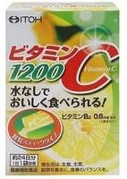 "ITOH KANPO PHARMACEUTICAL ""Vitamin C"" 1200 Витамин С 1200 мг., 24 пакетика по 2 гр."