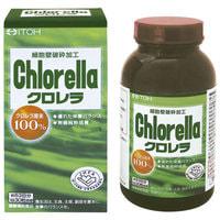 "Itoh Kanpo Pharmaceutical ""Chlorella"" Хлорелла, 1600 таблеток."