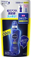 """KAO """"Success - Extra Cool"""" Лечебный охлаждающий шампунь-кондиционер для мужчин с ментолом и эвкалиптом, сменная упаковка, 300 мл."""