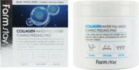 "FarmStay ""Collagen Water Full Moist Toning Peeling Pad"" Отшелушивающие очищающие подушечки с коллагеном, 70 шт."