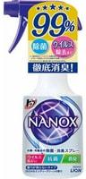 """Lion """"Top Nanox"""" Дезинфицирующий и дезодорирующий спрей для одежды и изделий из ткани, 350 мл."""