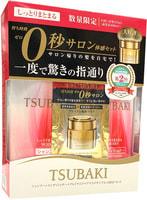 """SHISEIDO """"Tsubaki Moist"""" Набор увлажняющий: Шампунь, 315 мл + Кондиционер, 315 мл + Маска для волос, 15 гр., с маслом камелии."""