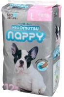 "Neo Loo Life ""Neoomutsu"" Подгузники для собак (девочки), размер L (7-12 кг.), 12 шт."