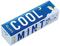 """Lotte """"Cool Mint - Прохладная свежесть"""" Жевательная резинка, 9 пластинок."""