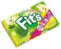 "Lotte ""Fit`s Green Apple Or Pear"" Жевательная резинка со вкусом яблока и груши, 12 шт."