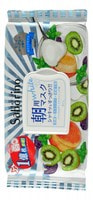 """B&C Laboratories """"Morning Facial Sheet Mask Fresh"""" Маска-салфетка для утреннего ухода за лицом """"Увлажнение и упругость"""", с ароматом йогурта и киви, 28 шт."""