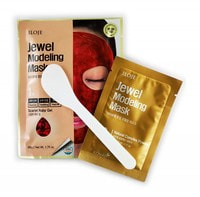 "Konad ""Jewel Modeling Mask Scarlet Ruby"" Моделирующая маска для лица с рубиновой пудрой, 1 шт./уп.: гель – 50 гр; пудра – 5 гр. + лопатка."