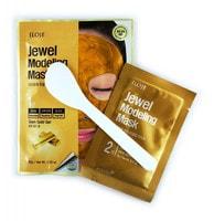 "Konad ""Jewel Modeling Mask Glam Gold"" Моделирующая маска для лица с частицами золота, 1 шт./уп.: гель – 50 гр; пудра – 5 гр. + лопатка."