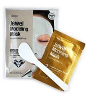 """Konad """"Jewel Modeling Mask Dia Blanc"""" Моделирующая маска для лица с алмазной пудрой, 1 шт./уп.: гель – 50 гр; пудра – 5 гр. + лопатка."""