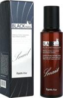 """FarmStay """"Black Snail All In One Emulsion"""" Эмульсия с муцином черной улитки, 150 мл."""