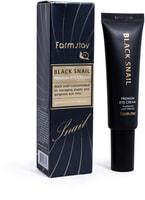 """FarmStay """"Black Snail Premium Eye Cream"""" Премиальный крем для глаз с муцином черной улитки, 50 мл."""