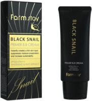 """FarmStay """"Black Snail Primer B.B Cream SPF50+/PA+++"""" ББ крем с муцином черной улитки SPF50+/PA+++, 50 гр."""