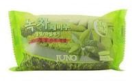 """Juno Cosmetics """"Green Tea Peeling Soap"""" Мыло с отшелушивающим эффектом с зеленым чаем, 150 гр."""