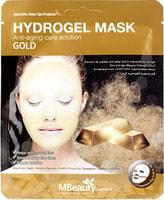 "MBeauty ""Gold Hydrogel Mask"" Антивозрастная гидрогелевая маска с золотом, 1 шт."