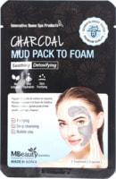 "MBeauty ""Charcoal Mud Pack To Foam"" Глиняная маска-пенка для лица с древесным углем, 7 мл. х 3 шт."