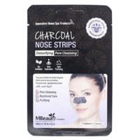 """MBeauty """"Charcoal Nose Strips"""" Маски-полоски с древесным углем для очищения пор в области носа, 5 шт."""