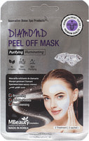 "MBeauty ""Diamond Peel Off Mask"" Маска-пленка с бриллиантовой пудрой для очищения пор, 7 гр. х 3 шт."