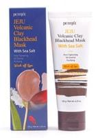 """PETITFEE """"Jeju Volcanic Clay Blackhead Mask With Sea Salt"""" Очищающая маска с вулканической глиной и морской солью, 120 гр."""
