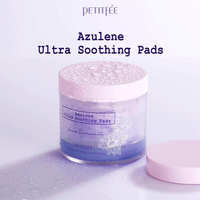 """Petitfee """"Azulene Ultra Soothing Pads"""" Успокаивающие очищающие подушечки для лица с азуленом, 70 шт."""