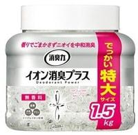 "ST 128006 ST Ионный нейтрализатор неприятных запахов для комнаты и туалета ""SHOSHURIKI"" (без аромата) 1,5 кг / 6"