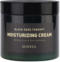"""Eunyul """"Black Seed Therapy Moisturizing Cream"""" Антивозрастной крем для лица с комплексом фруктовых семян и аденозином, 270 гр."""