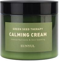 """Eunyul """"Green Seed Therapy Calming Cream"""" Успокаивающий крем-гель для лица с экстрактами зеленых плодов, 270 гр."""