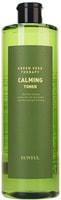 """Eunyul """"Green Seed Therapy Calming Toner"""" Успокаивающий тонер для лица с экстрактами зеленых плодов, 500 мл."""