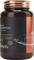 "FarmStay ""FarmStay Salmon Oil &Peptide Vital Ampoule"" Многофункциональная ампульная сыворотка с маслом лосося и пептидами, 250 мл."