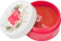 """FarmStay """"Rose & Ceramide Hydrogel Eye Patch"""" Увлажняющие гидрогелевые патчи для области вокруг глаз с экстрактом дамасской розы и керамидами, 60 шт."""