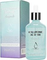 "FarmStay ""Hyaluronic Acid 100 Ampoule"" Ампульная сыворотка с гиалуроновой кислотой, 100 мл."
